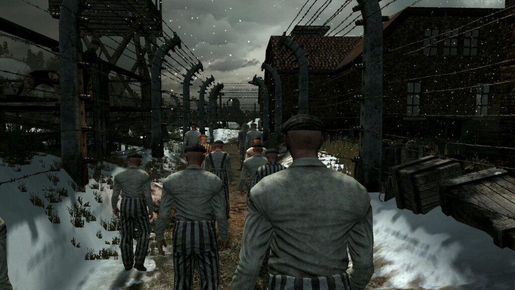 "Captura del videojuego ""Darkest of Days"""